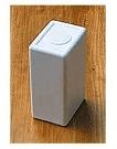 temporary urn white