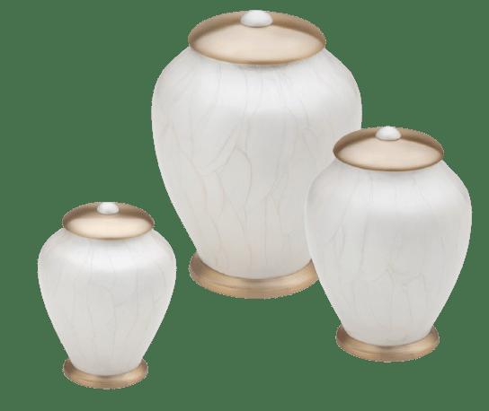 Simplicity Pearl pet urn