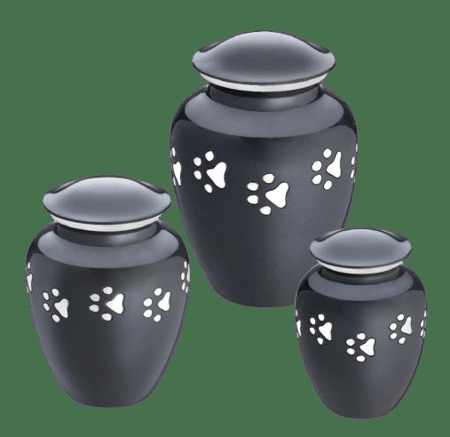 classic pet urn - midnight